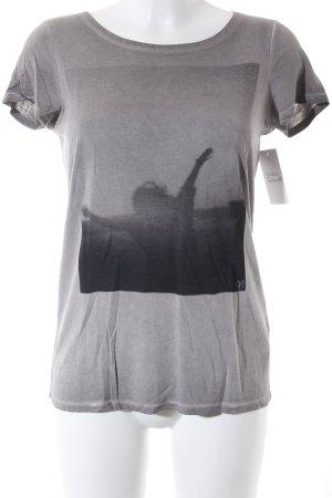 Marc O'Polo T-Shirt grau Casual-Look