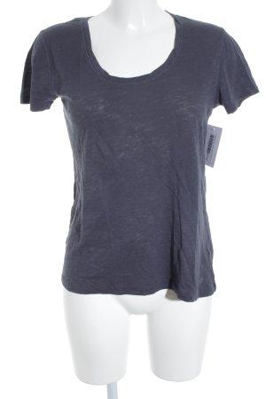 Marc O'Polo T-Shirt graublau meliert schlichter Stil