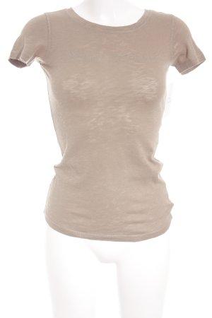 Marc O'Polo T-Shirt graubraun Casual-Look