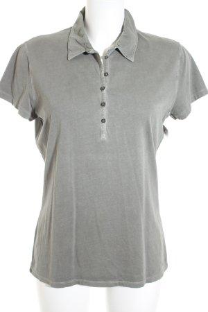 Marc O'Polo T-Shirt graugrün Casual-Look
