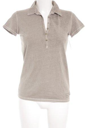 Marc O'Polo T-Shirt grüngrau Casual-Look