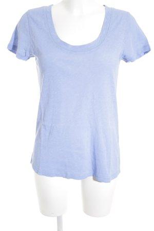Marc O'Polo T-Shirt hellblau Casual-Look