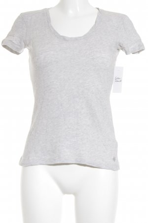 Marc O'Polo T-Shirt hellgrau Casual-Look
