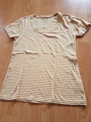 Marc O`Polo T-Shirt mit Streifen, senfgelb-creme