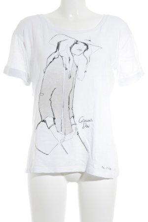 Marc O'Polo T-Shirt Motivdruck Casual-Look