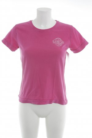 Marc O'Polo Camiseta rosa-blanco look casual