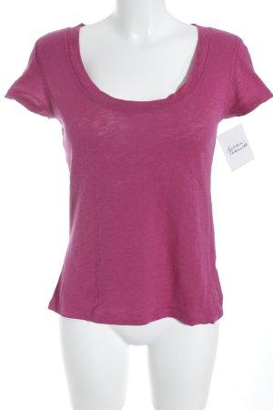 Marc O'Polo T-Shirt purpur Casual-Look