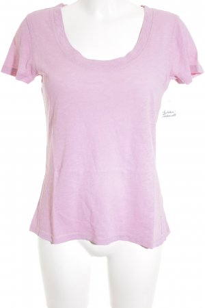 Marc O'Polo T-Shirt rosa Casual-Look