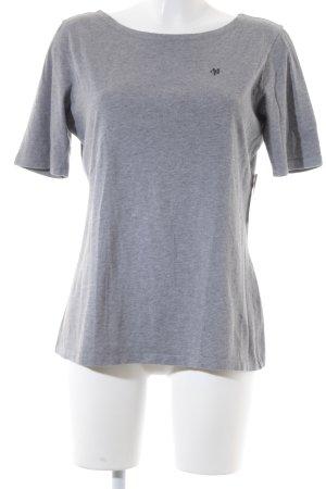 Marc O'Polo T-Shirt schwarz-grau klassischer Stil