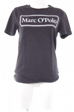 Marc O'Polo Camiseta negro-blanco look casual