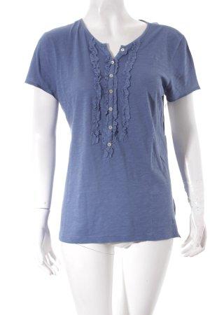 Marc O'Polo T-Shirt stahlblau klassischer Stil