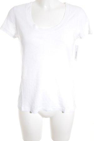 Marc O'Polo T-Shirt weiß Casual-Look