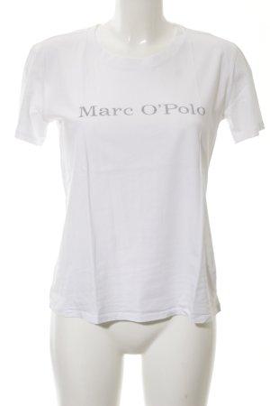 Marc O'Polo Camiseta blanco letras impresas look casual