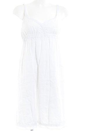 Marc O'Polo Trägerkleid weiß minimalistischer Stil