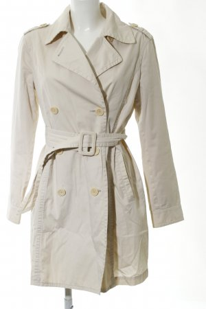 Marc O'Polo Trenchcoat wollweiß Casual-Look
