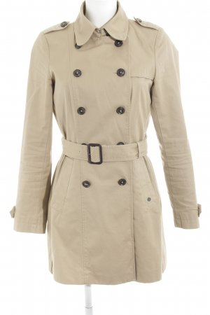 Marc O'Polo Trench Coat oatmeal business style