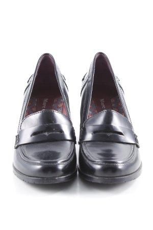 Marc O'Polo Loafers zwart klassieke stijl