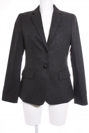Marc O'Polo Tweedblazer anthrazit meliert Business-Look