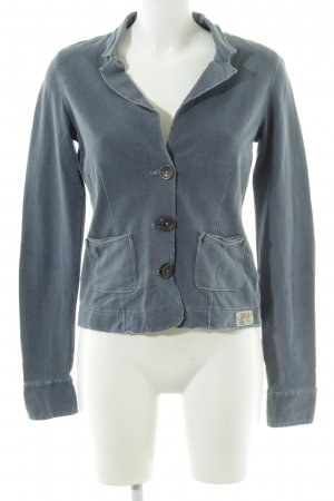 Marc O'Polo Tweedblazer blau Casual-Look