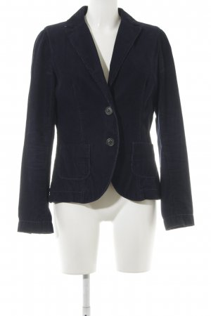 Marc O'Polo Blazer in tweed blu scuro stile country
