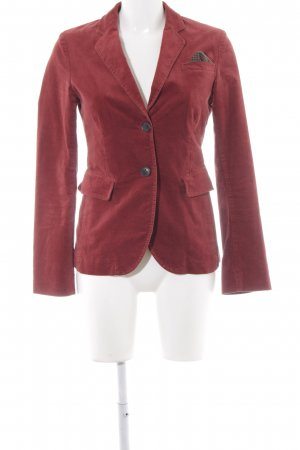 Marc O'Polo Tweedblazer ziegelrot Business-Look
