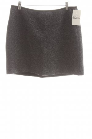 Marc O'Polo Jupe en tweed bleu foncé-blanc style simple
