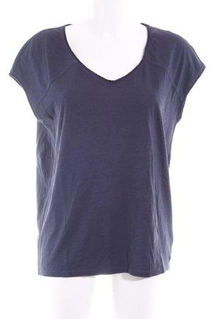 Marc O'Polo U-Boot-Shirt dunkelblau Casual-Look