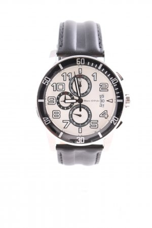 Marc O'Polo Watch With Leather Strap multicolored business style