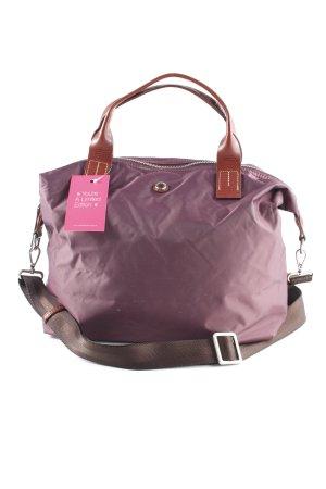 Marc O'Polo Sac bandoulière violet-brun style classique