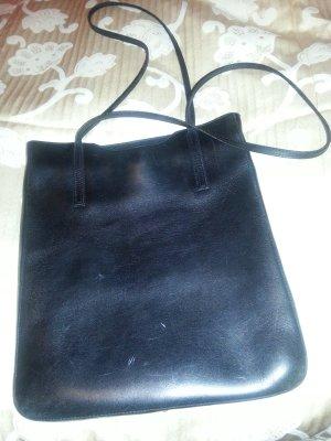 Marc O`Polo Umhängetasche schwarz , aus Leder