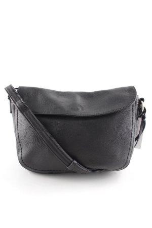 Marc O'Polo Umhängetasche schwarz-silberfarben klassischer Stil