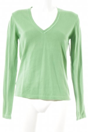 Marc O'Polo V-Neck Sweater green casual look