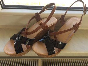 Marc O'Polo Wedges mit Lack Optik