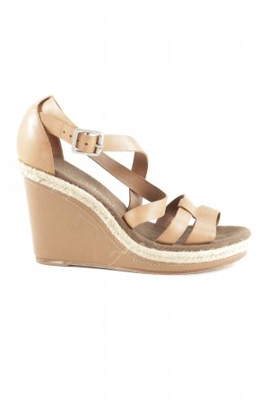 Marc O'Polo Wedges Sandaletten mehrfarbig Country-Look