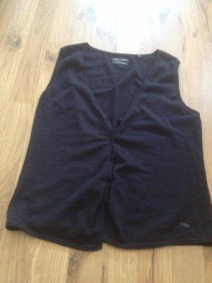 Marc'o'Polo Weste schwarz cashmere cotton