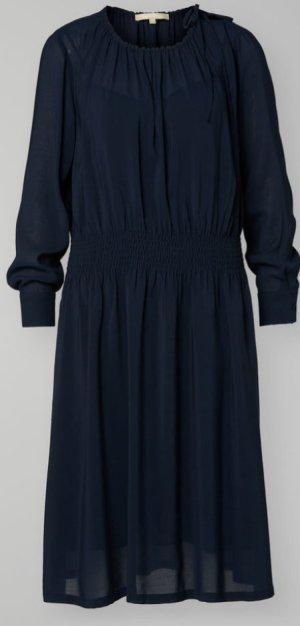 Marc O'Polo Robe à manches longues bleu modal