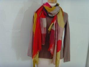 Marc O'Polo Sjaal met franjes veelkleurig Modal
