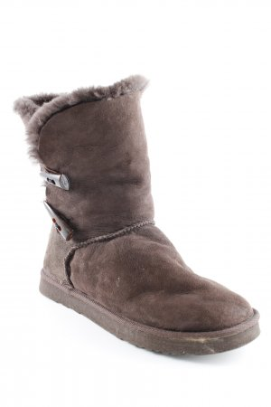 Marc O'Polo Winterstiefel braun Casual-Look