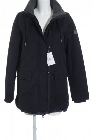 Marc O'Polo Winterjacke dunkelblau Casual-Look