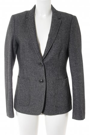 Marc O'Polo Woll-Blazer dunkelgrau Business-Look