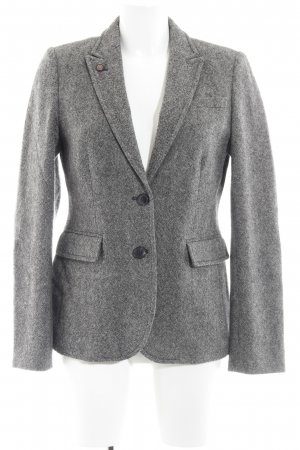 Marc O'Polo Woll-Blazer grau Business-Look