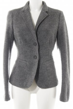 Marc O'Polo Woll-Blazer grau Business-Look