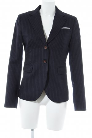 Marc O'Polo Woll-Blazer hellgrau Streifenmuster Business-Look