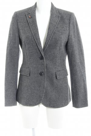 Marc O'Polo Wool Blazer taupe check pattern business style