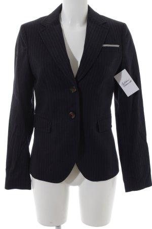 Marc O'Polo Woll-Blazer weiß-dunkelblau Business-Look