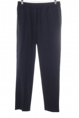 Marc O'Polo Woolen Trousers dark blue business style