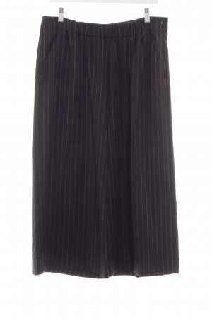 Marc O'Polo Woolen Trousers black striped pattern business style
