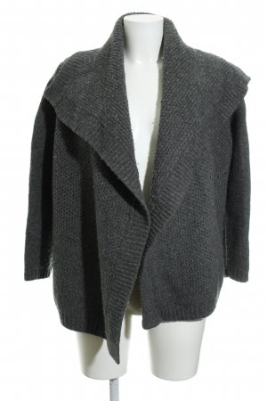 Marc O'Polo Wolljacke dunkelgrau Casual-Look