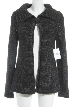 Marc O'Polo Veste en laine gris foncé-gris Motif de tissage molletonné