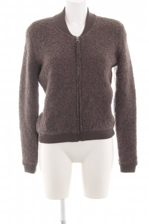 Marc O'Polo Wollen Jack brons casual uitstraling